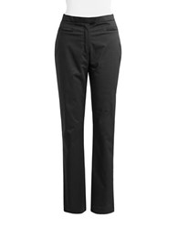Dex Straight Leg Trousers Black