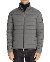 Save The Duck Quilted Puffer Jacket Opal Grey