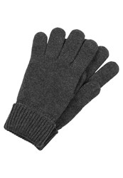 Lacoste Gloves Dark Gray Jaspe Mottled Anthracite