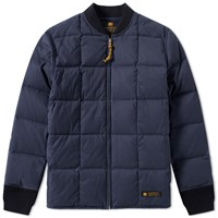 Neighborhood Military Down Liner Jacket Blue