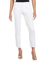 Lord And Taylor Kelly Ankle Stretch Pants White
