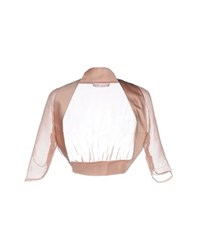Nine Topwear Shrugs Women Pastel Pink