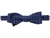 Cufflinks Inc. Polka Dot Wool Bow Tie Navy White Ties Blue