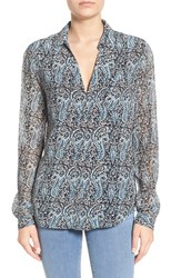 Paige Women's 'Everleigh' Paisley Silk Blouse