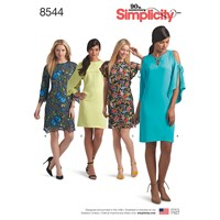 Simplicity 'S Dress Sewing Pattern 8544
