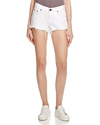 Rag And Bone Rag And Bone Jean Cutoff Denim Shorts In White