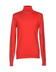 Guess By Marciano Turtlenecks Red