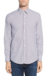 Pal Zileri Men's Plaid Sport Shirt