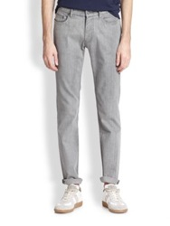 Marc By Marc Jacobs Light Wash Skinny Jeans Slate Grey