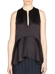 Lanvin Sleeveless A Line Blouse Midnight