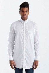 Zanerobe Eight Foot Dobby Button Down Shirt White