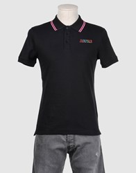 A Style Topwear Polo Shirts Men Dark Blue