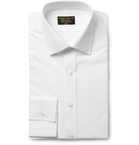 Emma Willis White Slim Fit Cotton Shirt