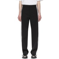 Balenciaga Black And White Stretch Trousers
