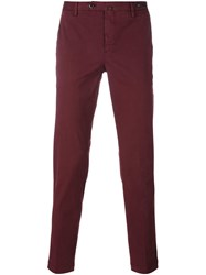 Pt01 Classic Chinos Red