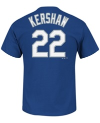 Majestic Men's Clayton Kershaw Los Angeles Dodgers Official Player T Shirt