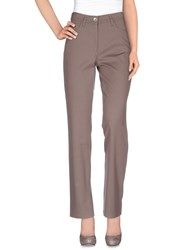 Gardeur Trousers Casual Trousers Women Dove Grey