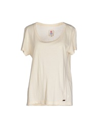 Franklin And Marshall T Shirts Ivory
