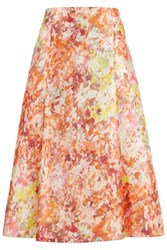 Damsel In A Dress Abstract Full Skirt Multi Coloured