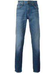 J Brand Tyler Taper Slim Fit Jeans Blue