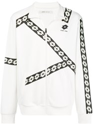 Damir Doma Zipped Fitted Jacket White