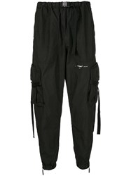 Off White Relaxed Fit Trousers Black