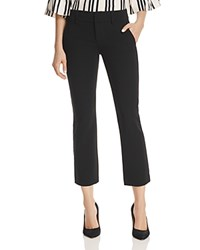 Alice Olivia Stacey Cropped Flare Pants Black