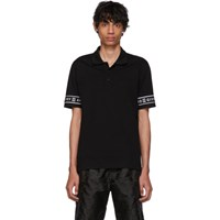 Givenchy Black 4G Band Polo 001 Black