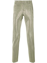 Tom Rebl Metallic Trousers