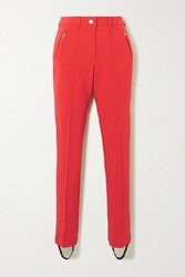 Fusalp Fuzz Stirrup Ski Pants Red