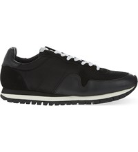 Sandro Mesh Top Trainers Black