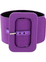 Attico Belt Style Anklet Pink And Purple