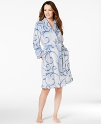 Charter Club Scroll Short Robe