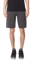 Reigning Champ Midweight Terry Sweat Shorts Heather Charcoal