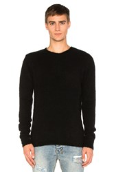 Ksubi Interpol Crew Knit Sweater Black