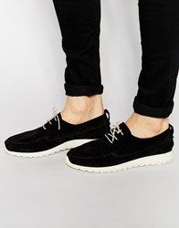 Shoe The Bear Ohh Suede Trainers Black