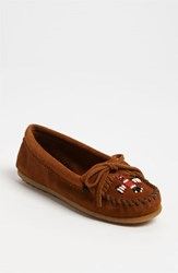 Women's Minnetonka 'Thunderbird Ii' Moccasin Brown
