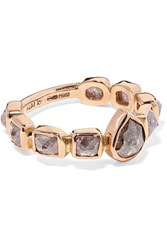 Melissa Joy Manning 18 Karat Rose Gold Diamond Ring Usd