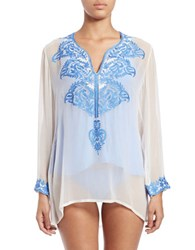 Athena Cabana Cover Up Blue