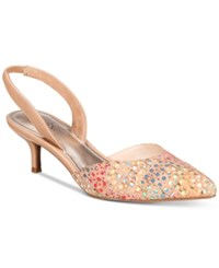 Impo Elate Slingback Pumps Women's Shoes Cork