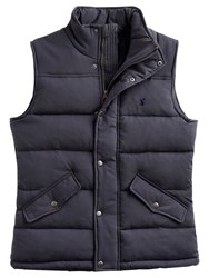 Joules Harkley Quilted Gilet Grey