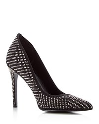 Dolce Vita Porsha Studded Pointed High Heel Pumps Hematite