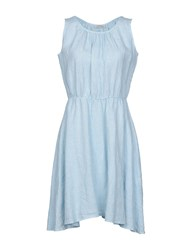 Saint Tropez Short Dresses Sky Blue