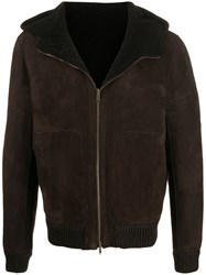 Salvatore Santoro Zipped Shearling Jacket 60