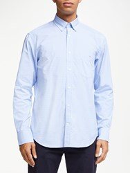 Eden Park Gingham Shirt Light Blue