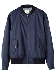 Jigsaw Proofed Bomber Jacket Navy