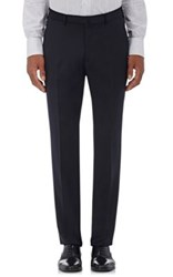 Ermenegildo Zegna Men's Wool Trousers Navy