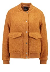 Evenandodd Bomber Jacket Brown