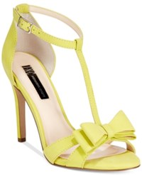 Inc International Concepts Women's Reesie Bow T Strap Sandals Only At Macy's Women's Shoes