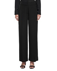 Whistles Satin Stripe Pants Black